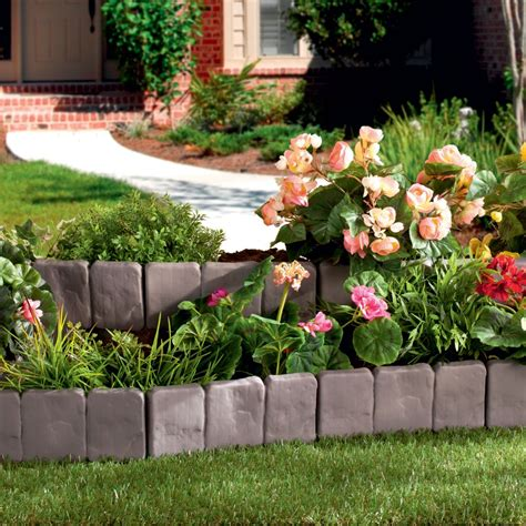 Flower Garden Fencing Brick Design Cheap Plastic Garden Fence For Flower Fencing Buy Fence Plastic Fence Cheap