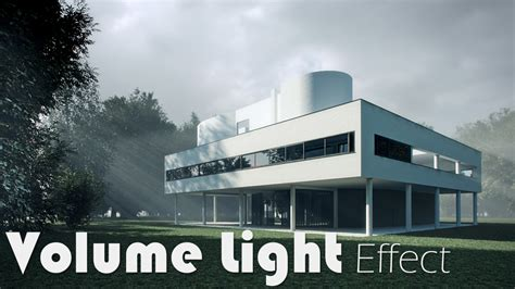 Home Design For Beginners volume light effect with vray environment fog arch viz camp