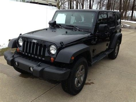 Call Of Duty Jeeps For Sale Sell Used 2011 Jeep Wrangler Call Of Duty Black Ops