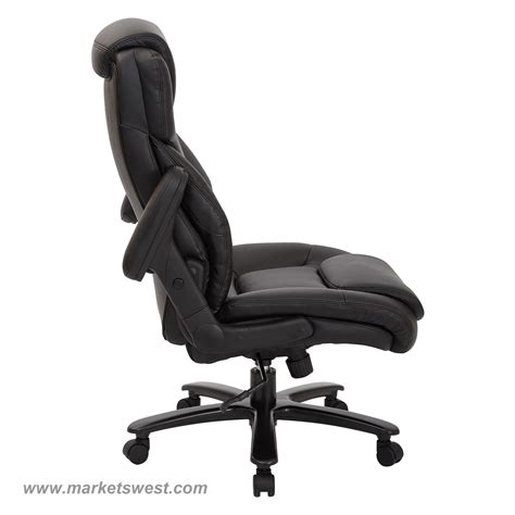 Big Bonded Leather Executive Chair by Big High Back Bonded Leather Executive Chair With