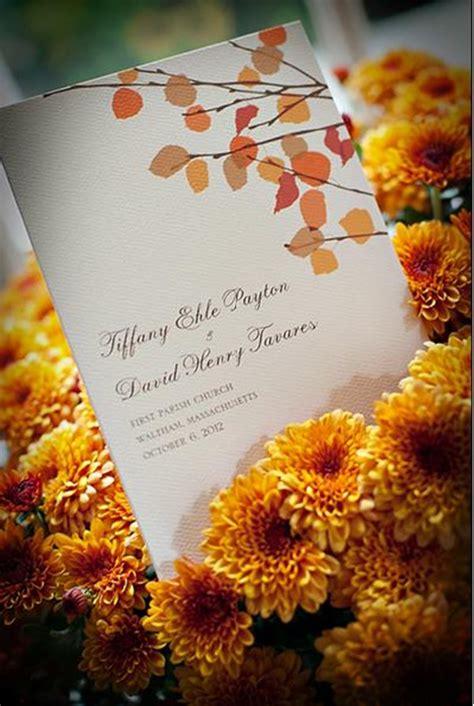 autumn themed wedding invitation wording fall wedding invitations ideas for your autumn weddings