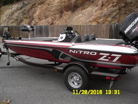 used nitro z7 bass boats for sale tracker nitro z7 bass boats used in gainesville ga us