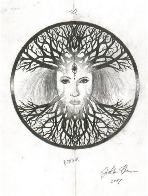 tree of the goddess by sunngennex on deviantart