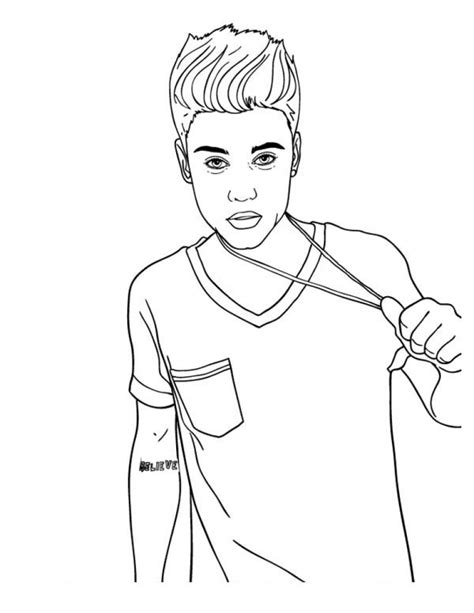 justin bieber coloring pages that you can print justin bieber coloring pages coloringsuite com