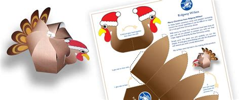 Papercraft Turkey - turkey papercraft paper toys west midlands