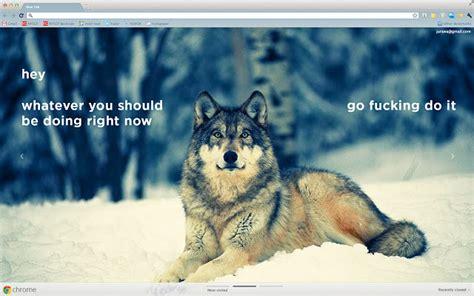 google themes wolf jurawa design wolf 1920x1080 chrome web store