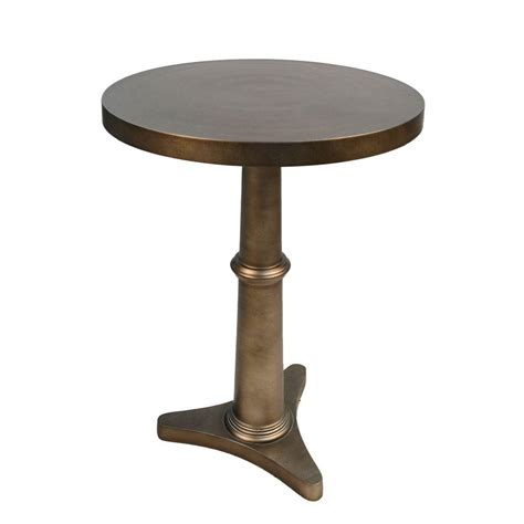 grey accent table home decorators collection aldridge square antique grey