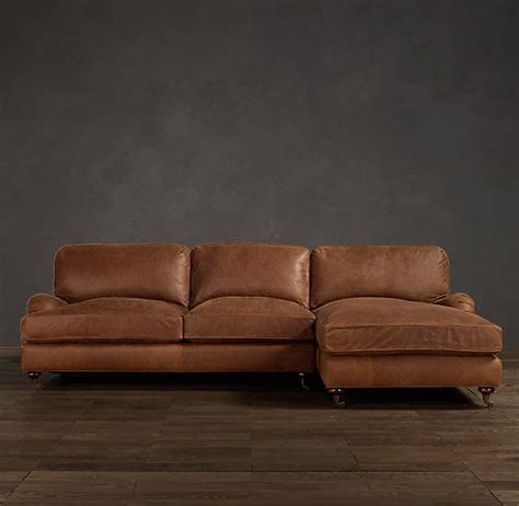 distressed leather sofa with chaise ? Couch & Sofa Ideas