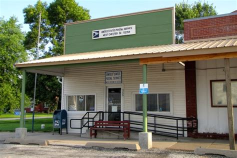 West Chester Post Office by Washington County Iowa Backroads
