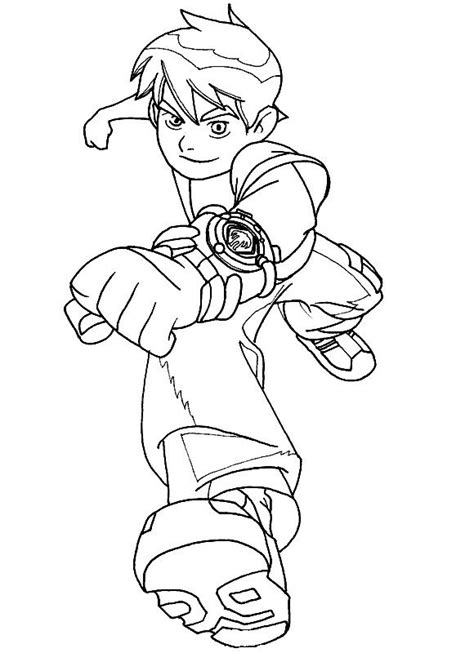 Ben10 Coloring Pages ben 10 coloring pages coloring pages to print