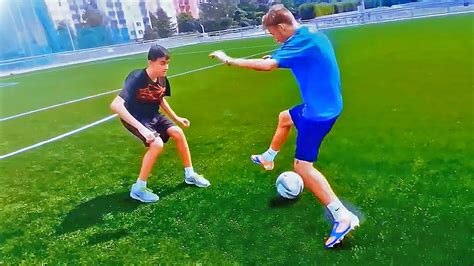 top 3 1 on 1 dribbling matchplay football skills