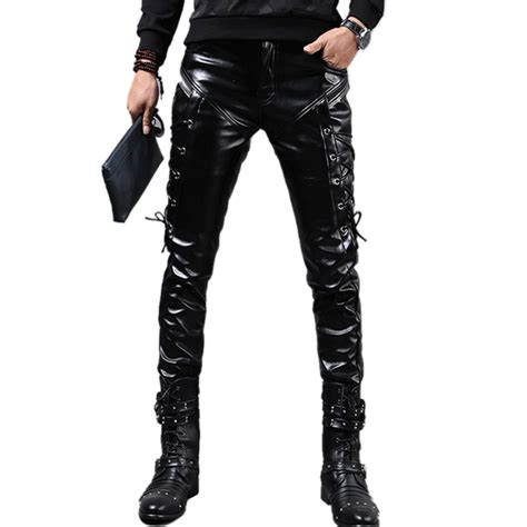 cheap mens motorcycle online get cheap leather pants for men tight aliexpress