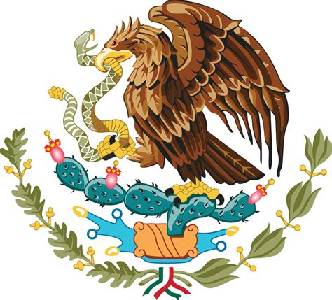 eagle in mexican flag
