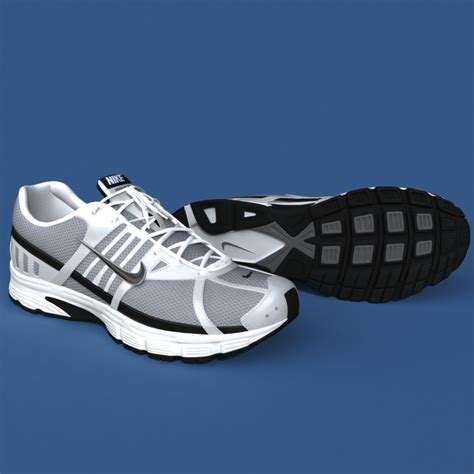 Sport Shoes Model 3017 realistic sport shoes 3d model