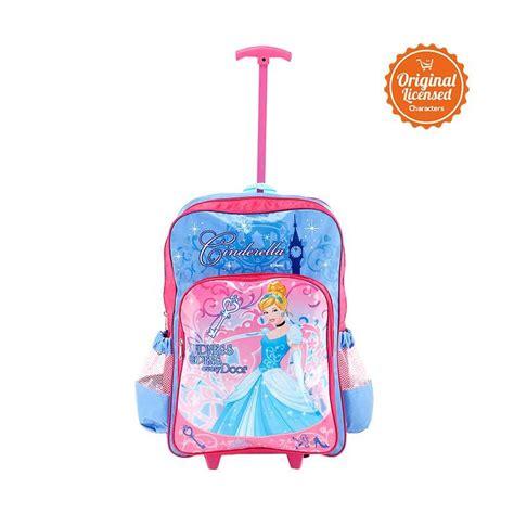 Tas Troly Disney Jual Disney Princess Cinderella Trolley Bag Large Tas