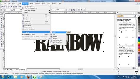 cara membuat vektor abstrak di coreldraw cara membuat desain kemasan di coreldraw