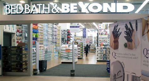 bed and bath store bed bath and beyond opens its largest store in canada at