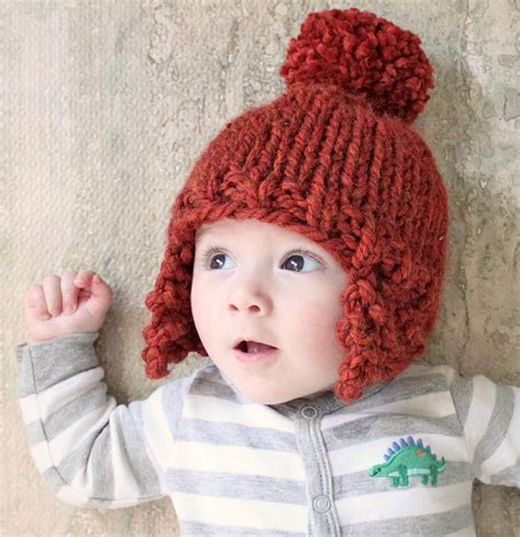 knitting pattern earflap hats for toddlers ear flap baby hat allfreeknitting com