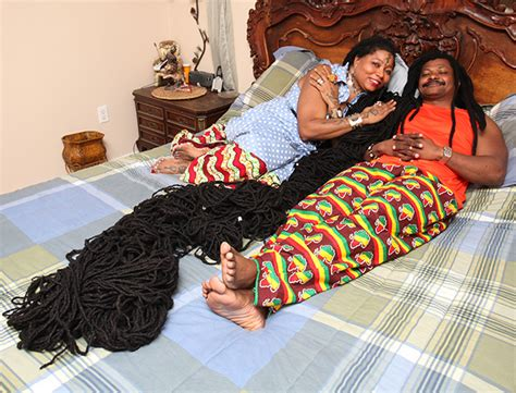 women with worlds longest dreads woman with the world s longest dreadlocks finds her