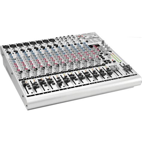 Mixer Behringer Ub2222fx behringer eurorack ub2222fx pro 22 channel mixer ub2222fx pro