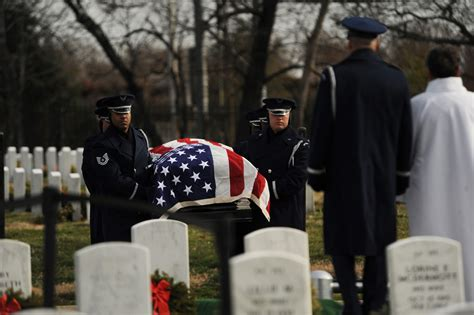 tuskegee airman laid to rest at arlington gt u s air
