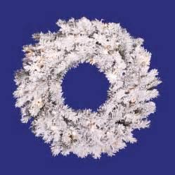 lighted wreaths lowes shop vickerman 20 in indoor outdoor pine artificial