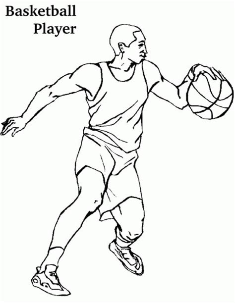 coloring pages basketball players basketball player coloring pages coloring pages pinterest