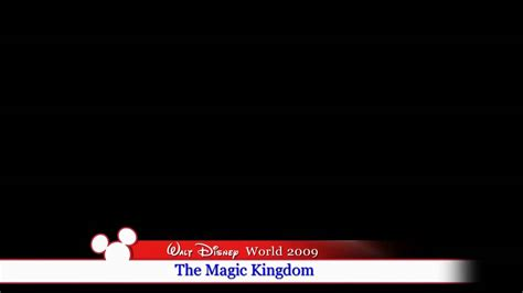 Disney World Lower Third Youtube News Broadcast Template