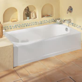 American Standard 2391.202.020 Princeton Americast Recess Bath, RHO   White   FaucetDepot.com