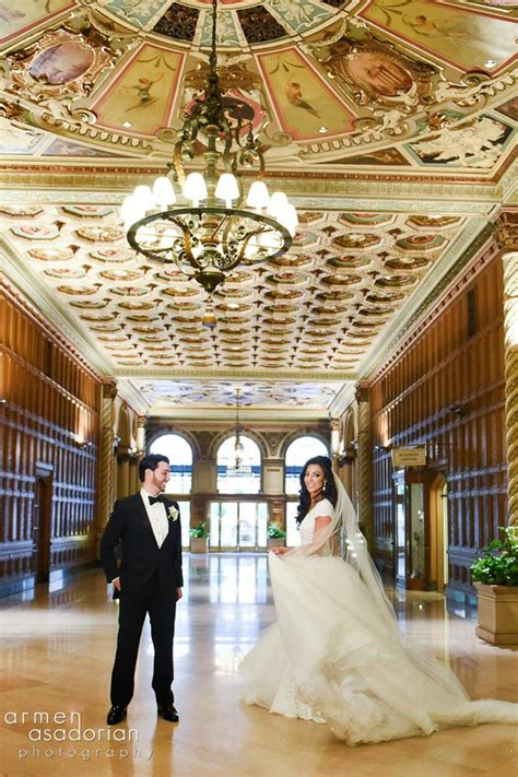 Wedding Venues Los Angeles by Millennium Biltmore Hotel Los Angeles Weddings