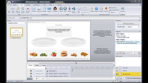 Articulate Storyline Tutorial Convert A Powerpoint Template Into Drag Drop Activity 2 2 Youtube Powerpoint Template Tutorial