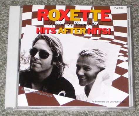 Roxette The Greatest Hits Japan Cd roxette hits after hits records lps vinyl and cds
