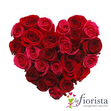fiori per san valentino on line vendita cuore di rosse consegna fiori a domicilio gratis