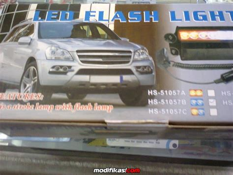 Lu Led Strobo Dashboard Flash Light Strobo Tempel K Limited Led Strobo Flash Light Bisa Di Tempel Di Kaca Dashboard
