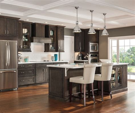Type Of Paint For Kitchen Cabinets by Dark Gray Kitchen Cabinets Aristokraft Cabinetry