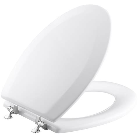 toilet seat hinges kohler kohler triko molded elongated closed front toilet seat