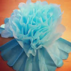 Handmade Corsage - tutorial how to make diy tissue paper flowers