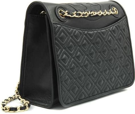 Burch Flemming Black burch quilted medium fleming bag in black lyst