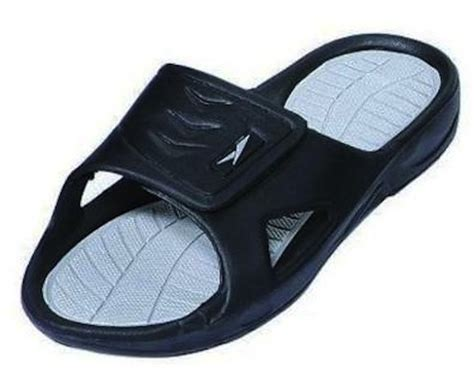 mens sandals with velcro straps the 138 s rubber slide sandal velcro sandals