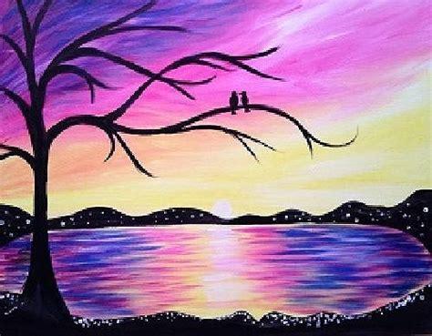 paint nite island photos paint nite fundraiser sunset