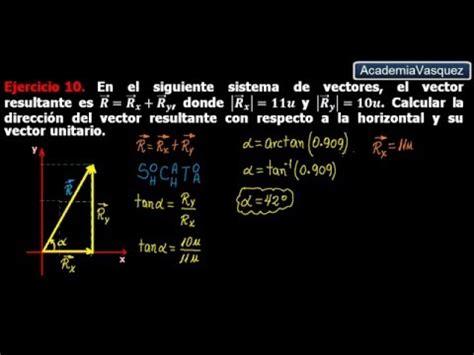 ley de cosenos vectores ley de cosenos con vectores ejercicio 10 youtube