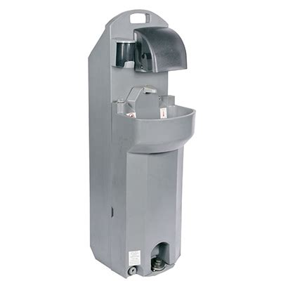 portable shoo sink no plumbing double faucet wash station nationwide waste service