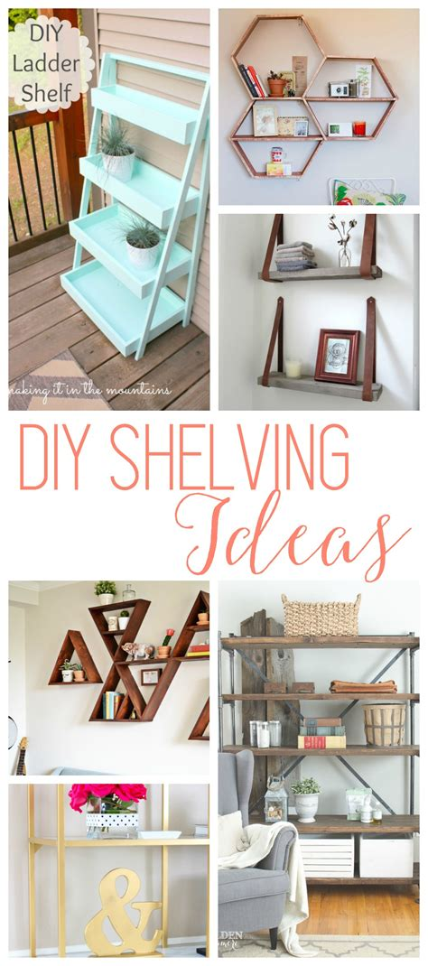 diy home business ideas diy shelves 18 diy shelving ideas