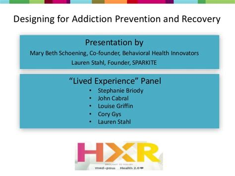 Aid In Recovery Wellness Residential Detox by Hxr 2016 Designing For Addiction And Recovery Beth