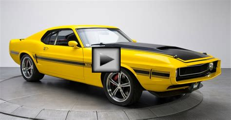 ford mustang boss american muscle car