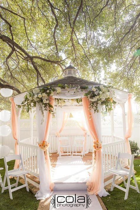 25  best ideas about Gazebo Wedding Decorations on