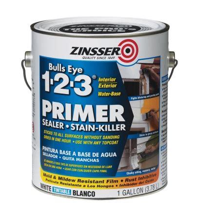 ace hardware zinsser zinsser bulls eye 123 water based interior and exterior