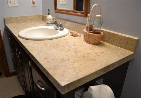 One Bathroom Countertops by Bathroom Countertops Concrete Overlay Systems