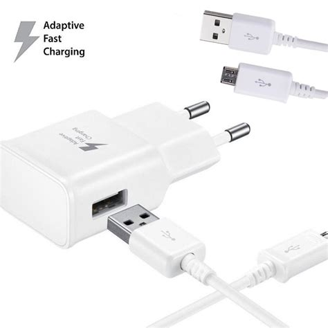 Charger Samsung Micro Usb 2a Original 100 Galaxy Note2 S4 Non Pack 100 genuine 5v 2a adaptive micro usb cable fast charging