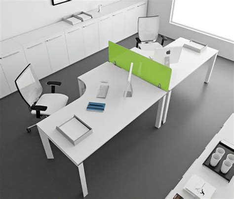 modern office furniture design ideas with white modular